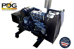 21 Kw Single Or Three Phase Perkins Diesel Generator With Dse3110 Controller