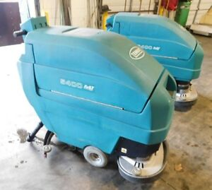 Tennant 5400 24 Auto Scrubber Disk Floor Scrubber Low 30 Hours New Batteries