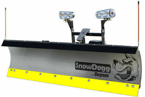 Snowdogg buyers Products 16120620 Black Steel Cutting Edge For Ex80 Snowplow