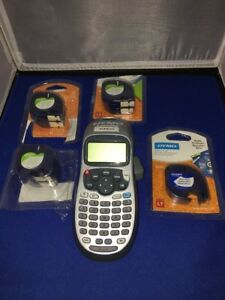 Dymo Letratag Personal Hand held Label Maker With 6 White 1 White Plastic Lab
