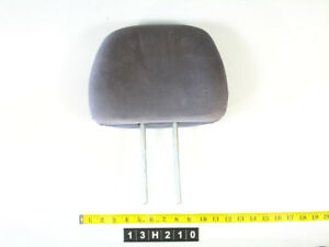 96 97 98 99 00 Honda Civic Headrest Driver Passenger Front Cloth Gray 13h210