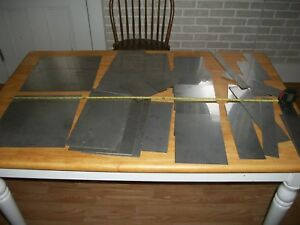 Mix Lot Stainless Steel Sheet Metal Plate 20 Lbs