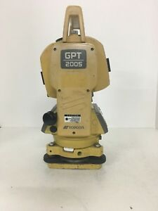 Topcon Gpt 2005 Total Station