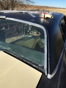 1969 1970 Chevy Impala Caprice Rear Window Trim