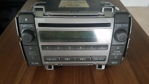 2010 Toyota Matrix Oem Radio Am Fm Single Disc Cd Player Aux