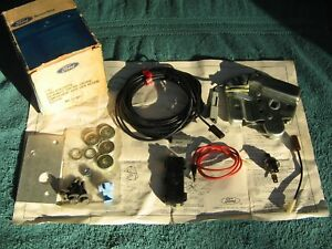 Nos Ford Electric Remote Trunk Release 1967 72 1975 Galaxie Torino Mustang Pinto