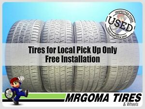 4 Continental Contiprocontact Rft 225 50 17 Used Tires 70 Rmng Bmw X1 2255017