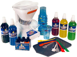 Snowie Little Snowie 2 Premium Shaved Ice Machine Bundle