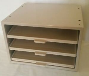 Hardware Parts Storage Cabinet 3 Drawer Steel Organizer