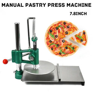 7 8 Manual Pastry Press Machine Dough Chapati Sheet Pizza Crust Stainless Steel