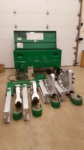 Greenlee 881 Bender 1813 Table Hydraulic Pump 2 1 2 To 4 Emt Imc Rigid
