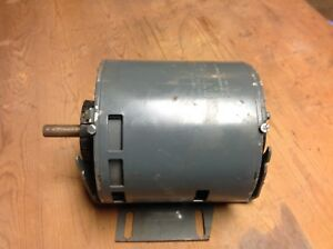 Ge 1 3 H p Motor 1750 Rpm Thermo Protected Used Motor 1 2 Inch Shaft