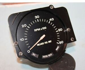75 76 77 Ford Pinto Dash 6 Grand Tach Tachometer