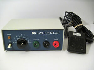 Cameron miller 26 230 Dental Electrosurgical Unit W foot Switch Tested
