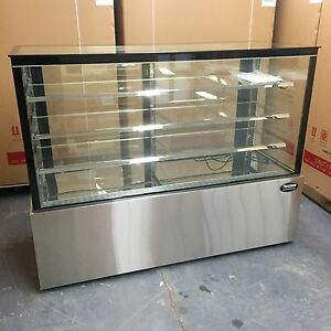 Bakery Display Show Case Pastry 60 Display Deli 5 Cake Show Refrigerator New