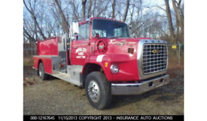 1980 Ford Fire Truck 35k Gvw Cat 3208 Engine 25k Actual Miles Runs New
