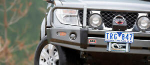 Arb Deluxe Winch Bumper For Nissan Frontier 2005 08 Pathfinder 2005 07