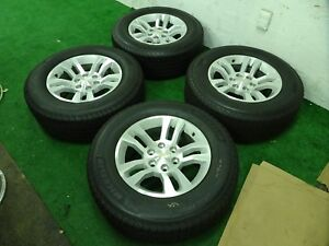 Chevrolet Silverado 1500 Tahoe Factory Oem 18 Wheels Rims Michelin Tires