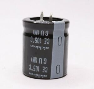Qty 250 Nichicon 330uf Ectrolytic Capacitor Ce 105 c Snap in