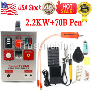 Sunkko 709ad Battery Pulse Spot Welder For 18650 Soldering And Welding Machine