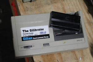 Lot Of 12 Gilian Instrument Corp The Gilibrator Thermal Printer Dpu 40