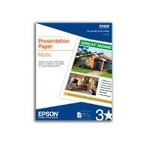 Epson Open Printers And Ink S041070 100sht 11x17 A3 Presentation Free Ship