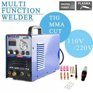 520tsc 3in1 Welding Machine Tig mma plasma Cutter Welder Torches Diy Household