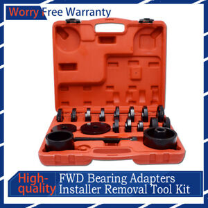 23xpuller Pulley Front Wheel Drive Bearing Removal Install Service Tool Kit case