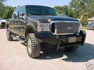 New Ranch Style Front Bumper 05 06 07 Ford F250 F350 2005 2006 2007 Super Duty