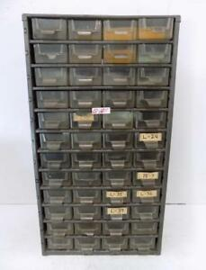 48 Drawer Metal Bin Storage Cabinet