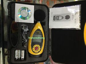 Handheld Digital Noise Sound Level Meter Tester 30 130db Store 10k Readings Usb