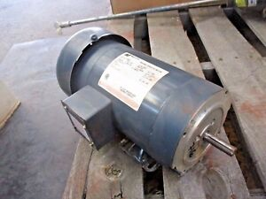 Magnetek 1 Hp Variable Speed Dc Motor 1750 Rpm Fr 56c 1228108j New