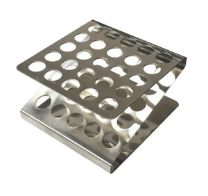 Stainless Steel Test Tube Rack By United Scientific