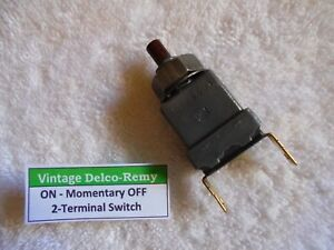 1533419 Delco remy On Momentary Off Switch