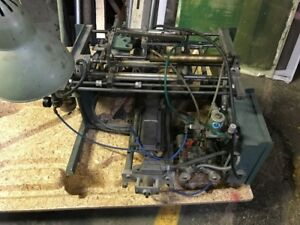 Screen Printing Bottle Press