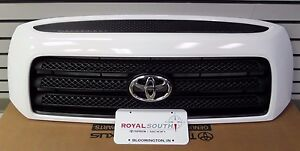 Toyota Tundra 07 09 Rock Warrior Painted Super White 040 Grille Genuine Oe Oem