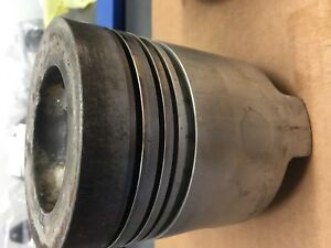 Ford 3000 3600 Tractor Used Eng Piston 020 Ref Part D6nn6108n D4nn6108n