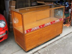 General Store Antique Wooden Roi Tan Cigar 60 Vintage Wood Display Case Pu Ohio