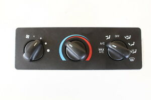 03 11 Ford Ranger Climate Control Panel Temperature Unit A c Heater