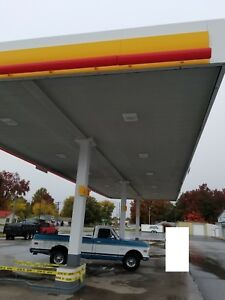 Gas Station Awning