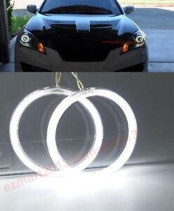 Ccfl Halo Rings For Hyundai Genesis Coupe 2010 16 Headlight Angel Eye Drl Lamp
