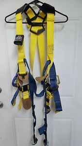 Sala Full Body Harness With Miller Scorpion Personal Fall Limiter Pfl400 9 Ft
