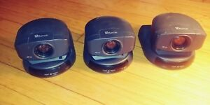 Lot Of 3 Sony Evi d30 Conference Surveillance Video Cam Af Ccd Without Adapter