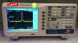 Digital Spectrum Analyzer 9k 1 8ghz Tracking Generator 6 5 tftlcd Usb Lan Vga