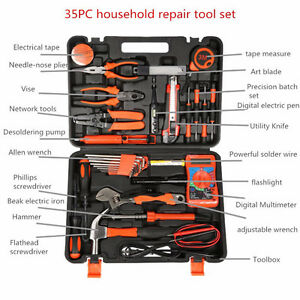 35 Professional Household Electric Screwdriver Wrench Multi fuctions Hand Tools