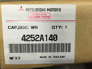 New Genuine Oem Mitsubishi Mirage Wheel Cover 4252a140 Factory Hubcap 14