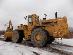 Cat 988b Wheel Loader Caterpillar 988 Diesel High Lift All Service Records
