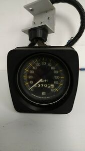 Stewart Warner 3 120mph Mechanical Speedometer