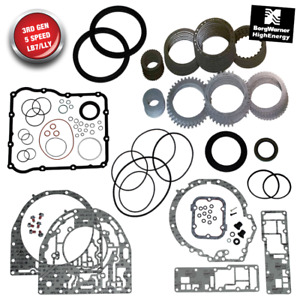 Rebuild Kit For Allison 1000 Gm Seal Kit Frictions Steels 5 Spd Lby Lly