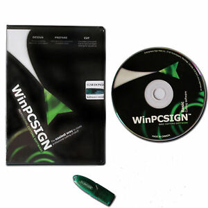 New Winpcsign 2012 Basic Software For Vinyl Cutting Plotter With Windows
